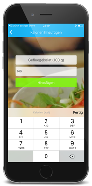Callogs Eingabe - App by apptec